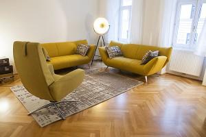 Sitzgelegenheit im Therapieraum